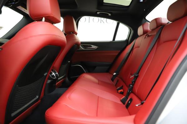 New 2020 Alfa Romeo Giulia Sport Q4 for sale Sold at Maserati of Greenwich in Greenwich CT 06830 19