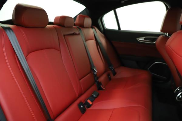 New 2020 Alfa Romeo Giulia Sport Q4 for sale Sold at Maserati of Greenwich in Greenwich CT 06830 24