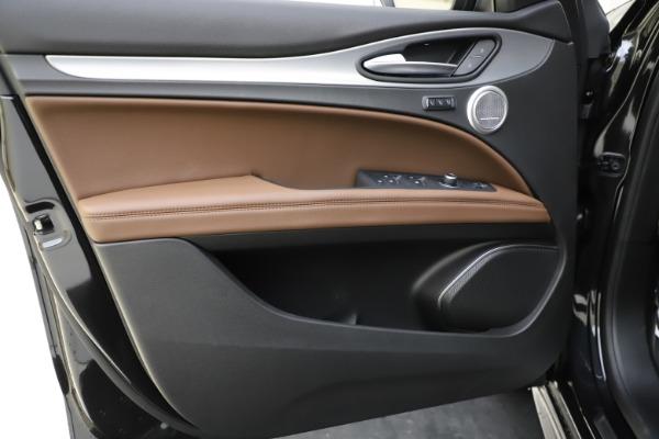New 2020 Alfa Romeo Stelvio Ti Sport Q4 for sale Call for price at Maserati of Greenwich in Greenwich CT 06830 17