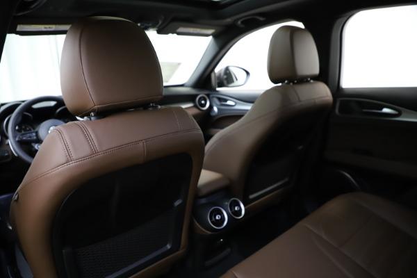New 2020 Alfa Romeo Stelvio Ti Sport Q4 for sale Call for price at Maserati of Greenwich in Greenwich CT 06830 20