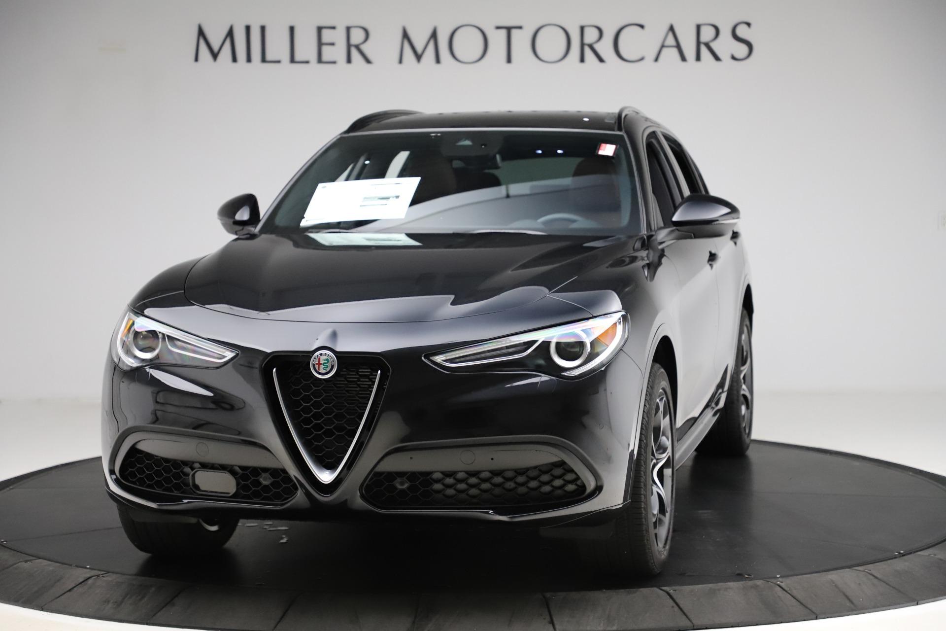 New 2020 Alfa Romeo Stelvio Ti Sport Q4 for sale Call for price at Maserati of Greenwich in Greenwich CT 06830 1
