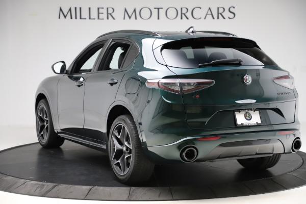 New 2020 Alfa Romeo Stelvio Ti Sport Carbon Q4 for sale Sold at Maserati of Greenwich in Greenwich CT 06830 5
