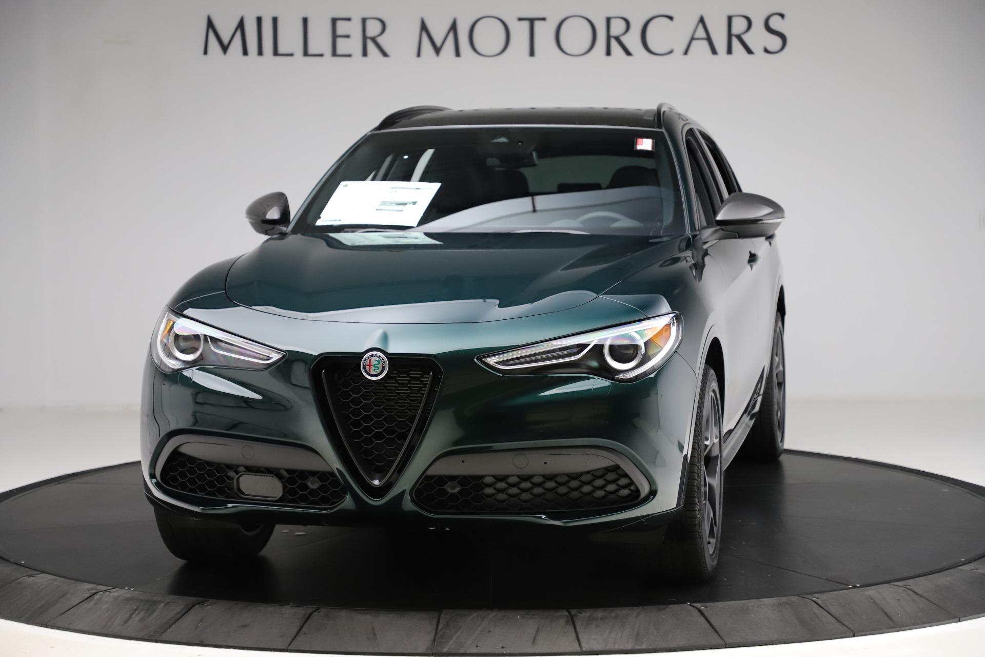 New 2020 Alfa Romeo Stelvio Ti Sport Carbon Q4 for sale Sold at Maserati of Greenwich in Greenwich CT 06830 1