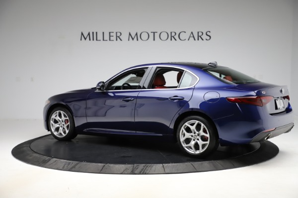 New 2020 Alfa Romeo Giulia Ti Q4 for sale $47,795 at Maserati of Greenwich in Greenwich CT 06830 4