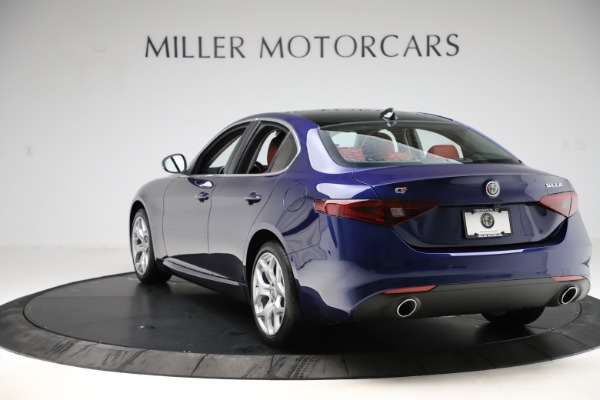 New 2020 Alfa Romeo Giulia Ti Q4 for sale $47,795 at Maserati of Greenwich in Greenwich CT 06830 5