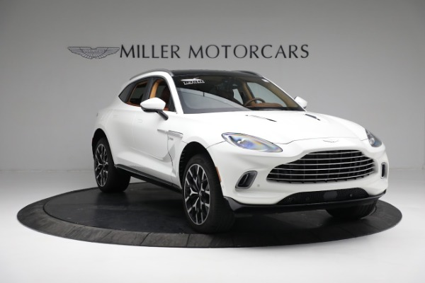 New 2021 Aston Martin DBX for sale $211,636 at Maserati of Greenwich in Greenwich CT 06830 10