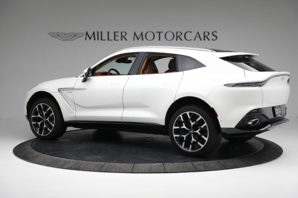 New 2021 Aston Martin DBX for sale $211,636 at Maserati of Greenwich in Greenwich CT 06830 3