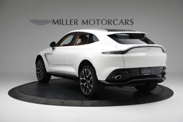 New 2021 Aston Martin DBX for sale $211,636 at Maserati of Greenwich in Greenwich CT 06830 4