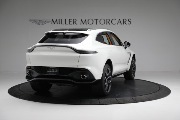 New 2021 Aston Martin DBX for sale $211,636 at Maserati of Greenwich in Greenwich CT 06830 6