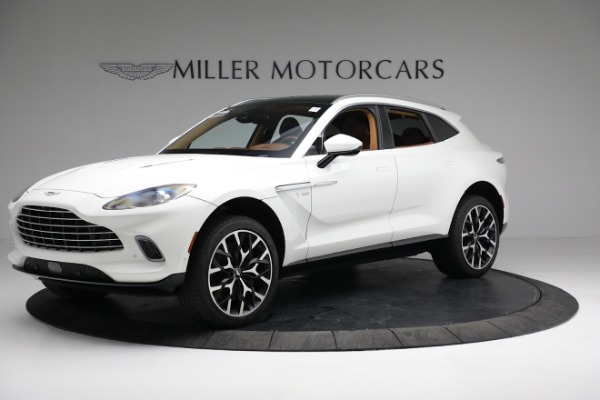 New 2021 Aston Martin DBX for sale $211,636 at Maserati of Greenwich in Greenwich CT 06830 1