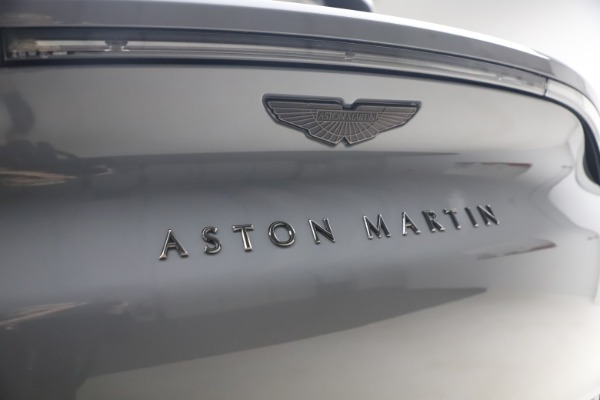 New 2021 Aston Martin DBX for sale $194,486 at Maserati of Greenwich in Greenwich CT 06830 22
