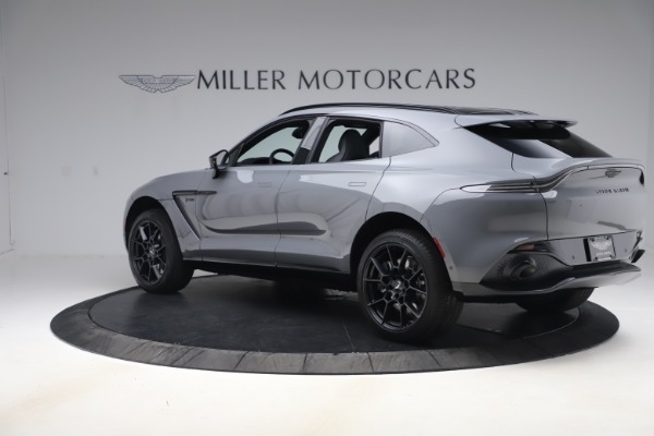 New 2021 Aston Martin DBX for sale $194,486 at Maserati of Greenwich in Greenwich CT 06830 3