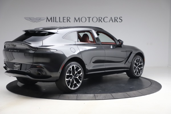 New 2021 Aston Martin DBX for sale $224,886 at Maserati of Greenwich in Greenwich CT 06830 7