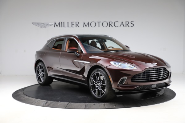New 2021 Aston Martin DBX for sale $226,836 at Maserati of Greenwich in Greenwich CT 06830 10