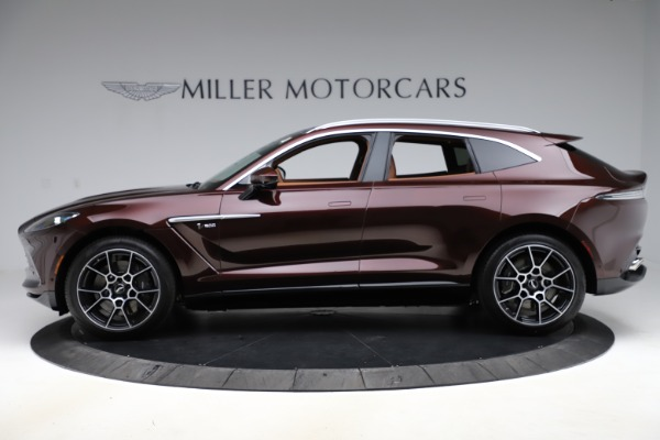 New 2021 Aston Martin DBX for sale $226,836 at Maserati of Greenwich in Greenwich CT 06830 2