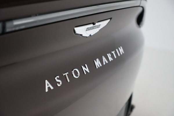 New 2021 Aston Martin DBX for sale $226,836 at Maserati of Greenwich in Greenwich CT 06830 24