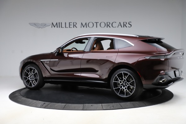 New 2021 Aston Martin DBX for sale $226,836 at Maserati of Greenwich in Greenwich CT 06830 3