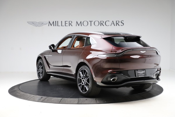 New 2021 Aston Martin DBX for sale $226,836 at Maserati of Greenwich in Greenwich CT 06830 4