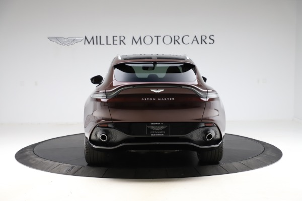 New 2021 Aston Martin DBX for sale $226,836 at Maserati of Greenwich in Greenwich CT 06830 5
