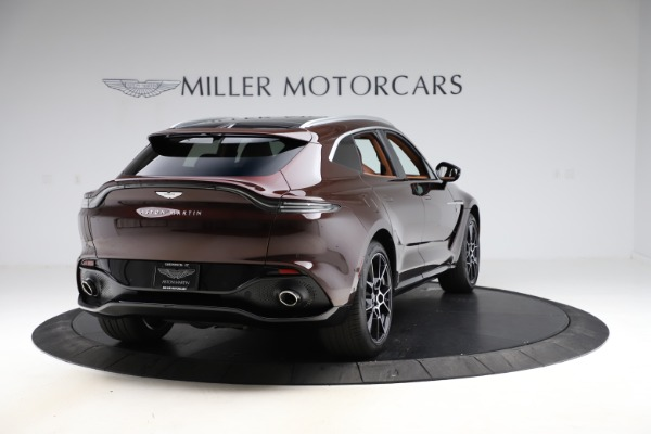 New 2021 Aston Martin DBX for sale $226,836 at Maserati of Greenwich in Greenwich CT 06830 6