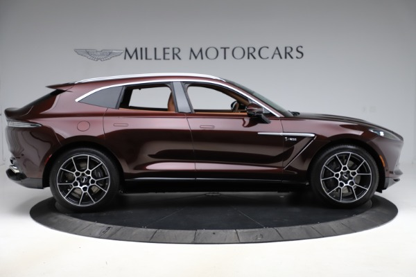 New 2021 Aston Martin DBX for sale $226,836 at Maserati of Greenwich in Greenwich CT 06830 8