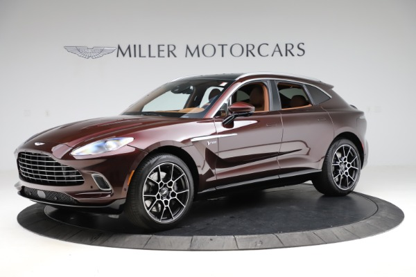 New 2021 Aston Martin DBX for sale $226,836 at Maserati of Greenwich in Greenwich CT 06830 1