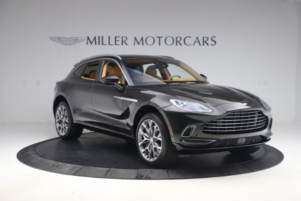 New 2021 Aston Martin DBX for sale $212,886 at Maserati of Greenwich in Greenwich CT 06830 10