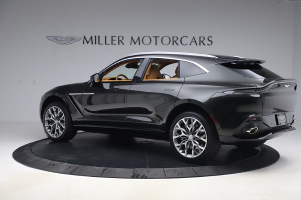 New 2021 Aston Martin DBX for sale $212,886 at Maserati of Greenwich in Greenwich CT 06830 3