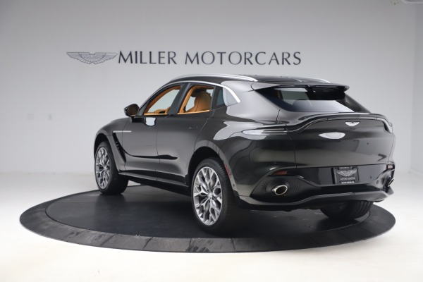 New 2021 Aston Martin DBX for sale $212,886 at Maserati of Greenwich in Greenwich CT 06830 4