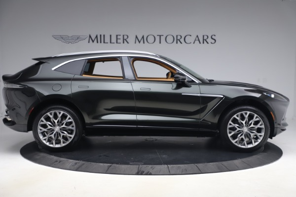 New 2021 Aston Martin DBX for sale $212,886 at Maserati of Greenwich in Greenwich CT 06830 8