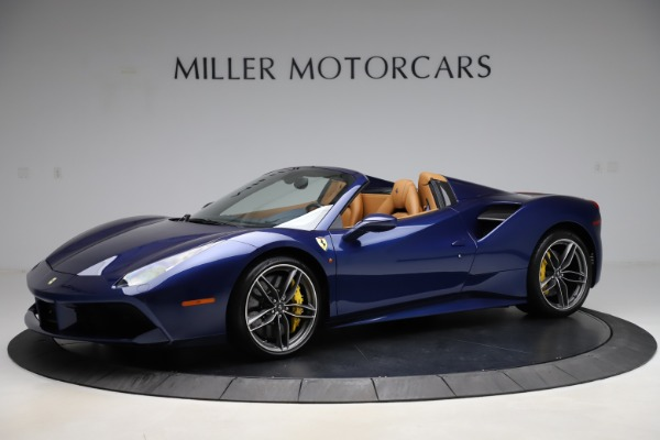 Used 2018 Ferrari 488 Spider for sale Sold at Maserati of Greenwich in Greenwich CT 06830 2