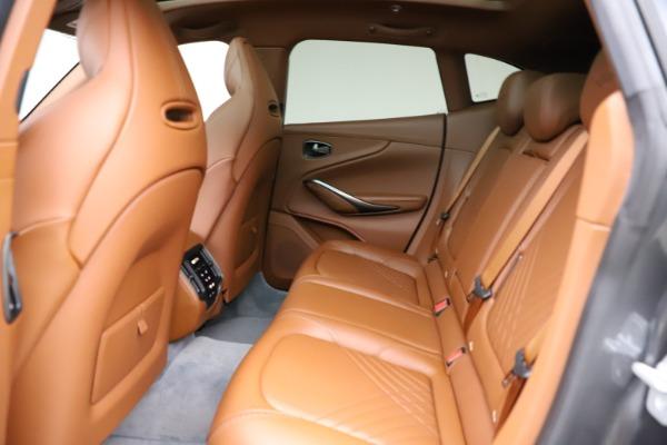 New 2021 Aston Martin DBX for sale $229,486 at Maserati of Greenwich in Greenwich CT 06830 16