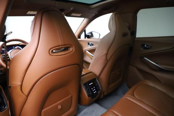 New 2021 Aston Martin DBX for sale $229,486 at Maserati of Greenwich in Greenwich CT 06830 17
