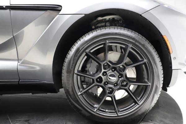 New 2021 Aston Martin DBX for sale $229,486 at Maserati of Greenwich in Greenwich CT 06830 22