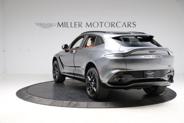 New 2021 Aston Martin DBX SUV for sale $229,486 at Maserati of Greenwich in Greenwich CT 06830 4