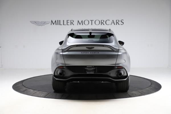 New 2021 Aston Martin DBX SUV for sale $229,486 at Maserati of Greenwich in Greenwich CT 06830 5