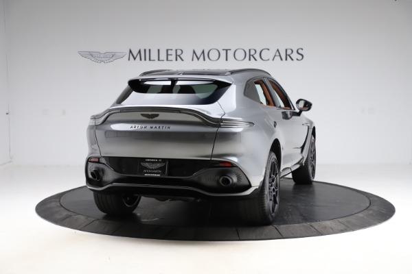 New 2021 Aston Martin DBX SUV for sale $229,486 at Maserati of Greenwich in Greenwich CT 06830 6