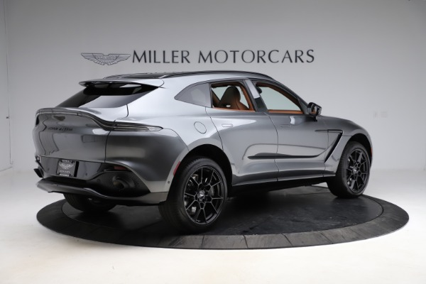 New 2021 Aston Martin DBX for sale $229,486 at Maserati of Greenwich in Greenwich CT 06830 7