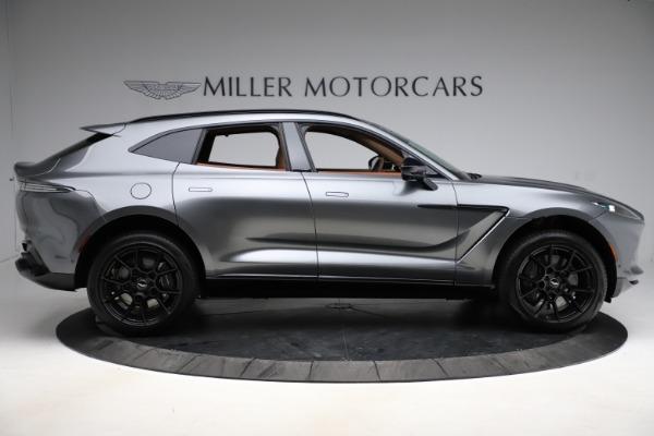 New 2021 Aston Martin DBX SUV for sale $229,486 at Maserati of Greenwich in Greenwich CT 06830 8