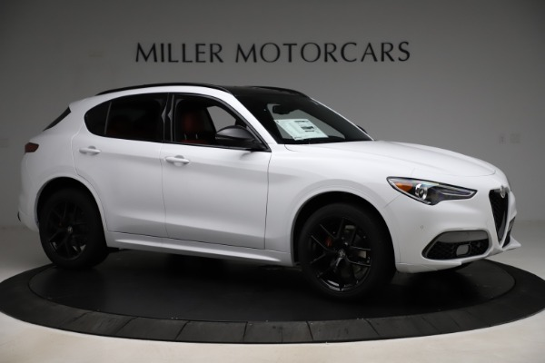 New 2020 Alfa Romeo Stelvio Ti Sport Q4 for sale $53,445 at Maserati of Greenwich in Greenwich CT 06830 10