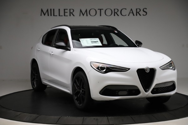 New 2020 Alfa Romeo Stelvio Ti Sport Q4 for sale $53,445 at Maserati of Greenwich in Greenwich CT 06830 11