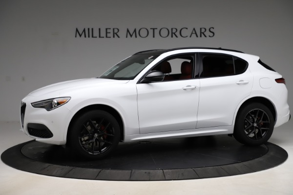 New 2020 Alfa Romeo Stelvio Ti Sport Q4 for sale $53,445 at Maserati of Greenwich in Greenwich CT 06830 2