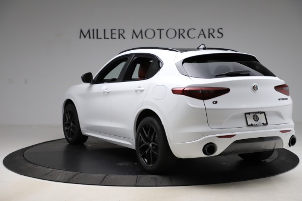 New 2020 Alfa Romeo Stelvio Ti Sport Q4 for sale $53,445 at Maserati of Greenwich in Greenwich CT 06830 5