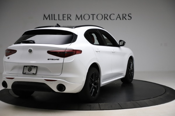 New 2020 Alfa Romeo Stelvio Ti Sport Q4 for sale $53,445 at Maserati of Greenwich in Greenwich CT 06830 7