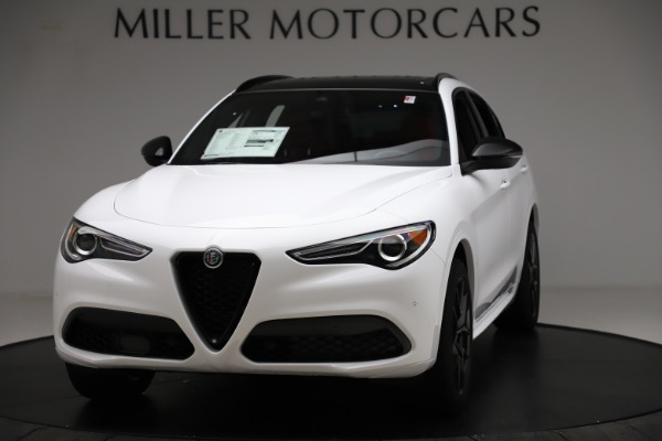 New 2020 Alfa Romeo Stelvio Ti Sport Q4 for sale $53,445 at Maserati of Greenwich in Greenwich CT 06830 1