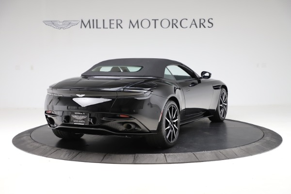 New 2021 Aston Martin DB11 Volante Convertible for sale $254,416 at Maserati of Greenwich in Greenwich CT 06830 27