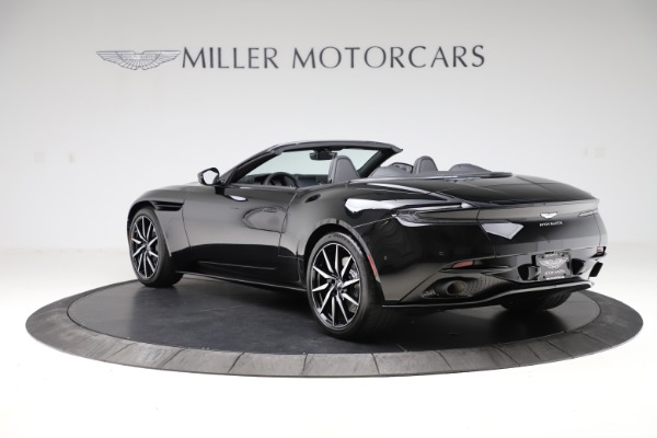 New 2021 Aston Martin DB11 Volante Convertible for sale $254,416 at Maserati of Greenwich in Greenwich CT 06830 4