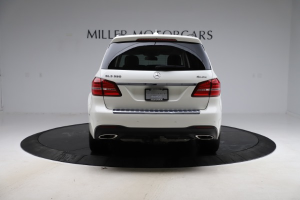 Used 2018 Mercedes-Benz GLS GLS 550 for sale $67,900 at Maserati of Greenwich in Greenwich CT 06830 6