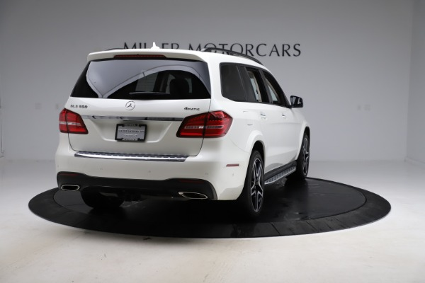 Used 2018 Mercedes-Benz GLS GLS 550 for sale $67,900 at Maserati of Greenwich in Greenwich CT 06830 7