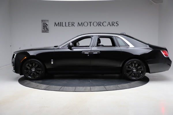 New 2021 Rolls-Royce Ghost for sale $374,150 at Maserati of Greenwich in Greenwich CT 06830 4